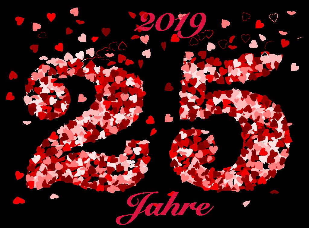 2019 25 Jahre