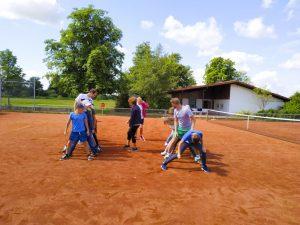 Tennis spielen-27
